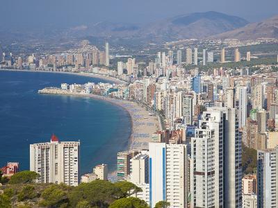 Benidorm, Alicante Province, Spain, Mediterranean, Europe-Billy Stock-Photographic Print