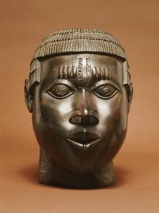 Benin Bronze Head, Pre 1550