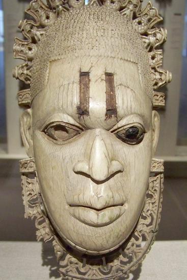 Benin Iyoba Pendant Mask--Photographic Print
