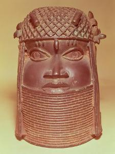 Benin Mask (Brass)