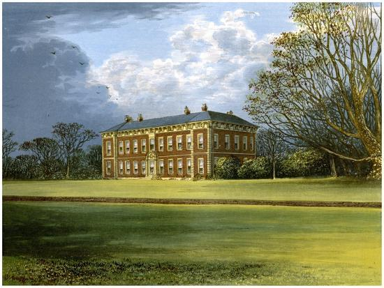 Beningbrough Hall, Yorkshire, Home of the Dawnay Family, C1880-AF Lydon-Giclee Print
