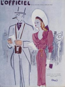 L'Officiel, June 1946 - Robe de L. Mendel by Benito