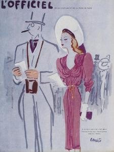 L'Officiel, June 1946 - Robe de L. Mendel by Benito