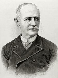 Benjami?N Ma?Ximo Laguna Y Villanueva (1822-1902). Spanish Botanist and Entomologist.