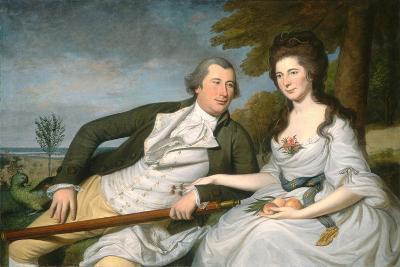 Benjamin and Eleanor Ridgely Laming, 1788-Charles Willson Peale-Giclee Print