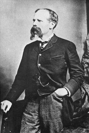 Benjamin Baker (1840-190), British Civil Engineer, C1890--Giclee Print