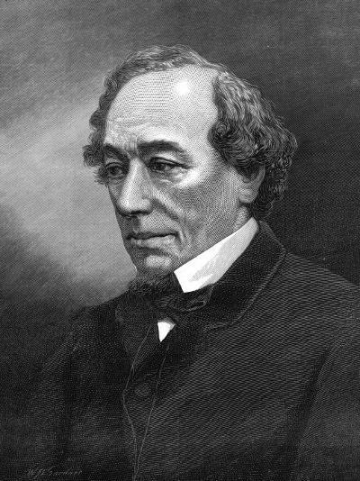 Benjamin Disraeli, (1804-1881)--Photographic Print