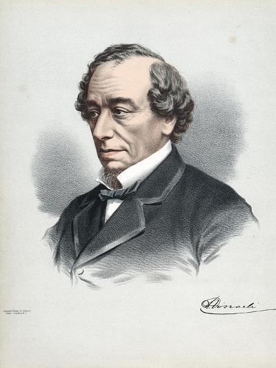 Benjamin Disraeli, 1st Earl of Beaconsfield (1804-188), British Conservative Statesman, C1880-Petter & Galpin Cassell-Giclee Print