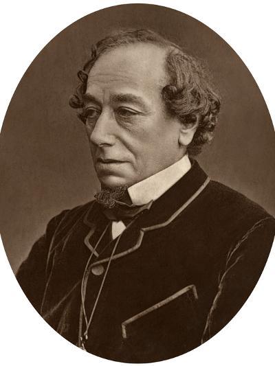 Benjamin Disraeli, Earl of Beaconsfield, Prime Minister, 1881--Photographic Print