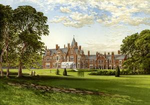 Bagshot Park, Surrey, Home of the Duke of Connaught, C1880 by Benjamin Fawcett