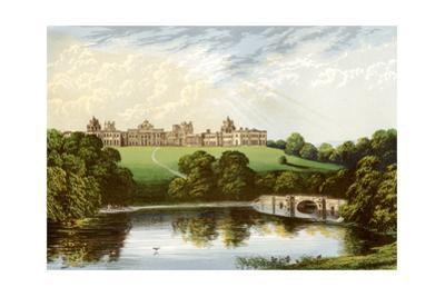 Blenheim Palace, Oxfordshire, Home of the Duke of Marlborough, C1880 by Benjamin Fawcett