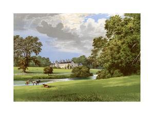 Castle Macgarrett, County Mayo, Ireland, Home of Lord Oranmore, C1880 by Benjamin Fawcett
