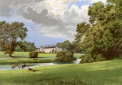Castle Macgarrett, County Mayo, Ireland, Home of Lord Oranmore, C1880