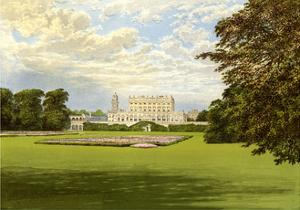 Cliveden, Buckinghamshire, Home of the Duke of Westminster, C1880 by Benjamin Fawcett