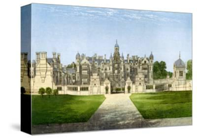 Harlaxton Manor, Lincolnshire, Home of the Gregory Family, C1880