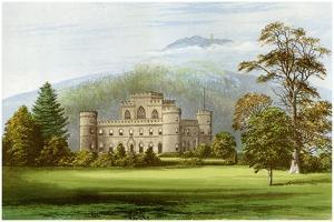 Inveraray Castle, Argyllshire, Scotland, Home of the Duke of Argyll, C1880 by Benjamin Fawcett