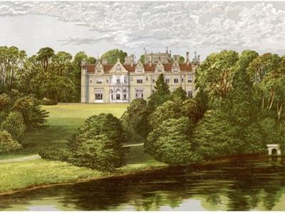 Keele Hall, Staffordshire, Home of the Sneyd Family, C1880 by Benjamin Fawcett