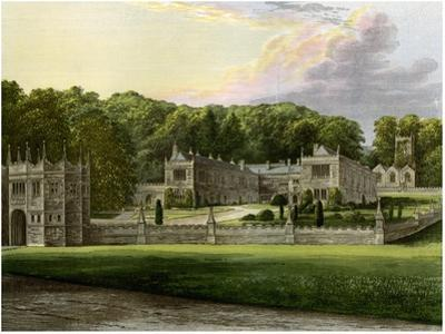 Lanhydrock, Cornwall, Home of Lord Robartes, C1880