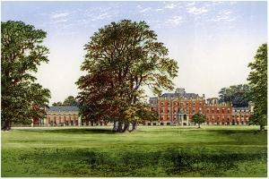 Wimpole Hall, Cambridgeshire, Home of the Earl of Hardwicke, C1880 by Benjamin Fawcett