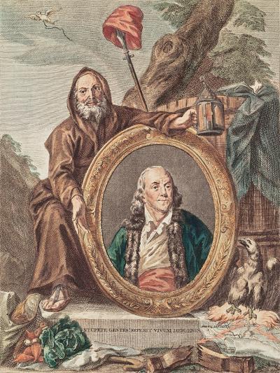 Benjamin Franklin (1706-90)--Giclee Print