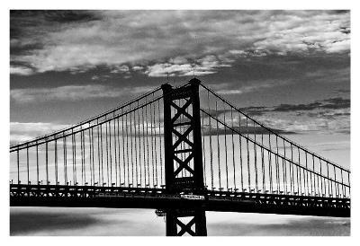 Benjamin Franklin Bridge-Erin Clark-Art Print