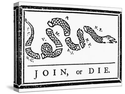 Join, or Die Political Cartoon