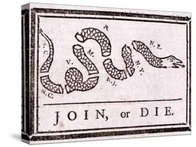 Join or Die Political Cartoon