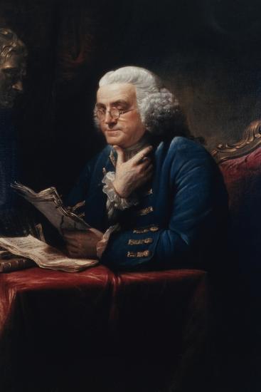 Benjamin Franklin-David Martin-Art Print