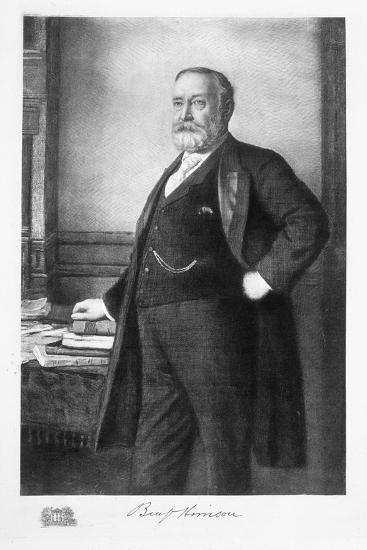 Benjamin Harrison, 23rd President of the United States of America, (1901)-Unknown-Giclee Print