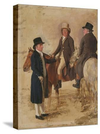 Three Worthies of the Turf at Newmarket, C.1804: John Hilton, Judge of the Canvas)