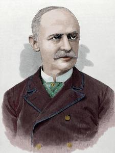 Benjamin Maximo Laguna Y Villanueva (1822-1902). Spanish Botanist and Entomologist