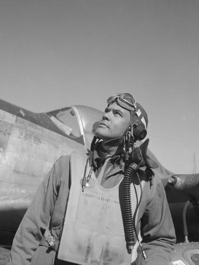 Benjamin Oliver Davis, Jr., Commander of the Tuskegee Airmen-Stocktrek Images-Photographic Print