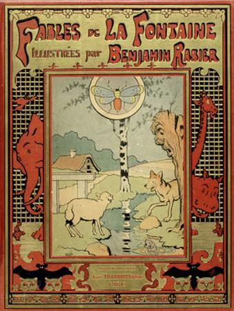 Book Cover of La Fontaine's Fables by Benjamin Rabier
