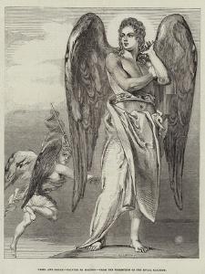 Uriel and Satan by Benjamin Robert Haydon