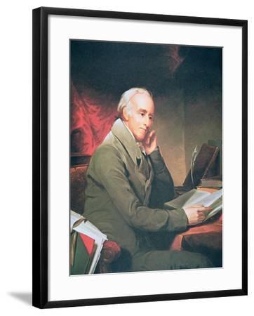 Benjamin Rush, 1812-Thomas Sully-Framed Giclee Print