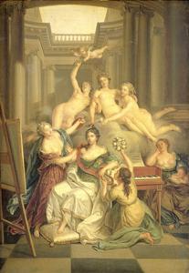 Frederika Sophia Wilhelmina of Prussia by Benjamin Samuel Bolomey