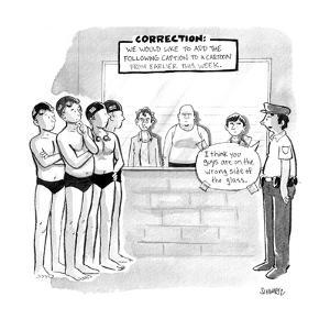 CORRECTION - Cartoon by Benjamin Schwartz