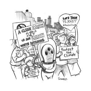 New Yorker Cartoon by Benjamin Schwartz