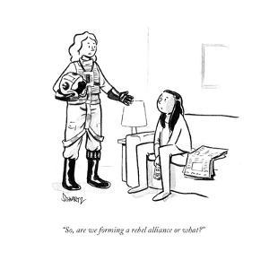 """""""So, are we forming a rebel alliance or what?"""" - Cartoon by Benjamin Schwartz"""