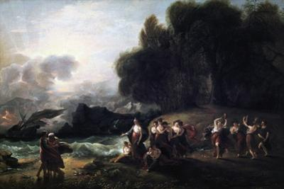 Calypso's Reception of Telemachus and Mentor, 1801