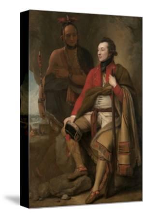 Colonel Guy Johnson and Karonghyontye (Captain David Hill), 1776