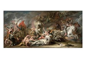 Death on the Pale Horse, 1796 by Benjamin West
