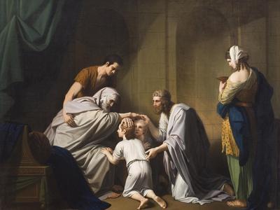Jacob Blessing Ephraim and Manasseh, 1766-68