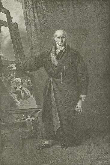 Benjamin West, President of the Royal Academy-Thomas Lawrence-Giclee Print