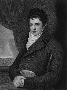 Robert Fulton (1765-1815), Engraved by George Parker (Fl.1834-D.1868) (Engraving) by Benjamin West