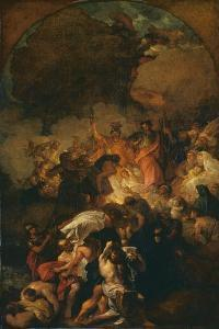 Sketch for 'St Paul Shaking Off the Viper' by Benjamin West