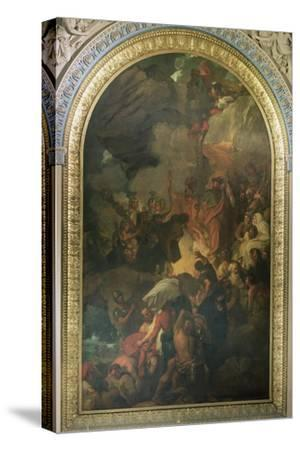 St. Paul Saved from a Shipwreck Off Malta, Altarpiece of the Chapel of St. Peter and St. Paul in…