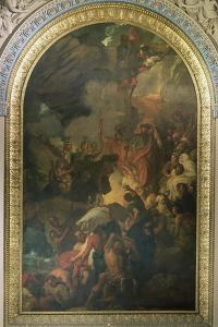 St. Paul Saved from a Shipwreck Off Malta, Altarpiece of the Chapel of St. Peter and St. Paul in… by Benjamin West