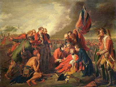 The Death of General Wolfe (1727-59), C.1771