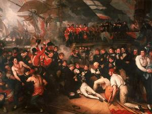 The Death of Nelson, 1806 by Benjamin West